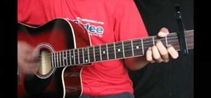 """Play """"Heartless"""" by Kanye West Ft. T-Pain on guitar"""