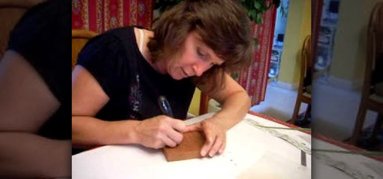 How to begin chip carving mahogany wood « furniture