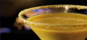 Make a pumpkin pie martini