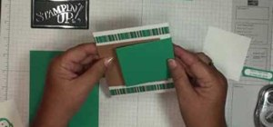 Make a double flap card with Stampin' Up!