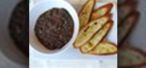 Prepare a savory tapenade with capers and anchovies