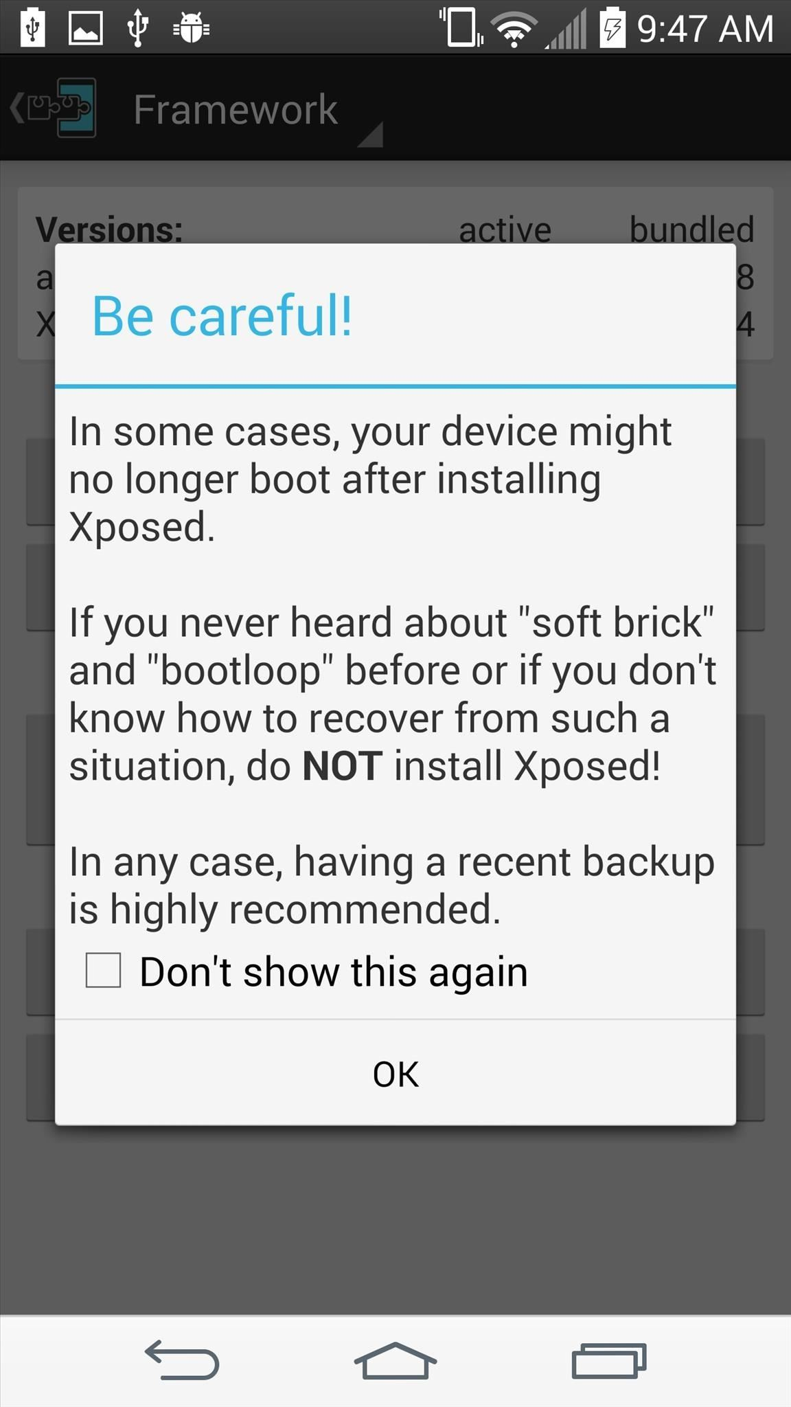 Install the Xposed Framework on Your Rooted LG G3 for 100s of Fast & Easy Mods