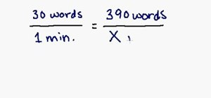 Solve word problems using proportions