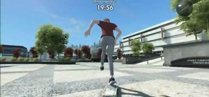 Get out of the map/demo barrier in the Skate 3 demo