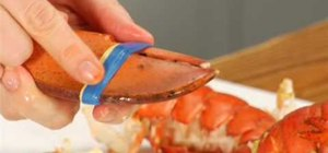 Prepare a lobster dinner for the holidays