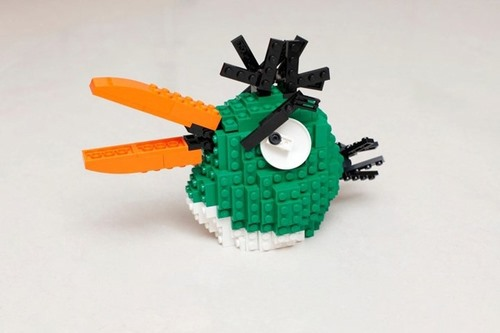 Angry Birds Get the LEGO Treatment