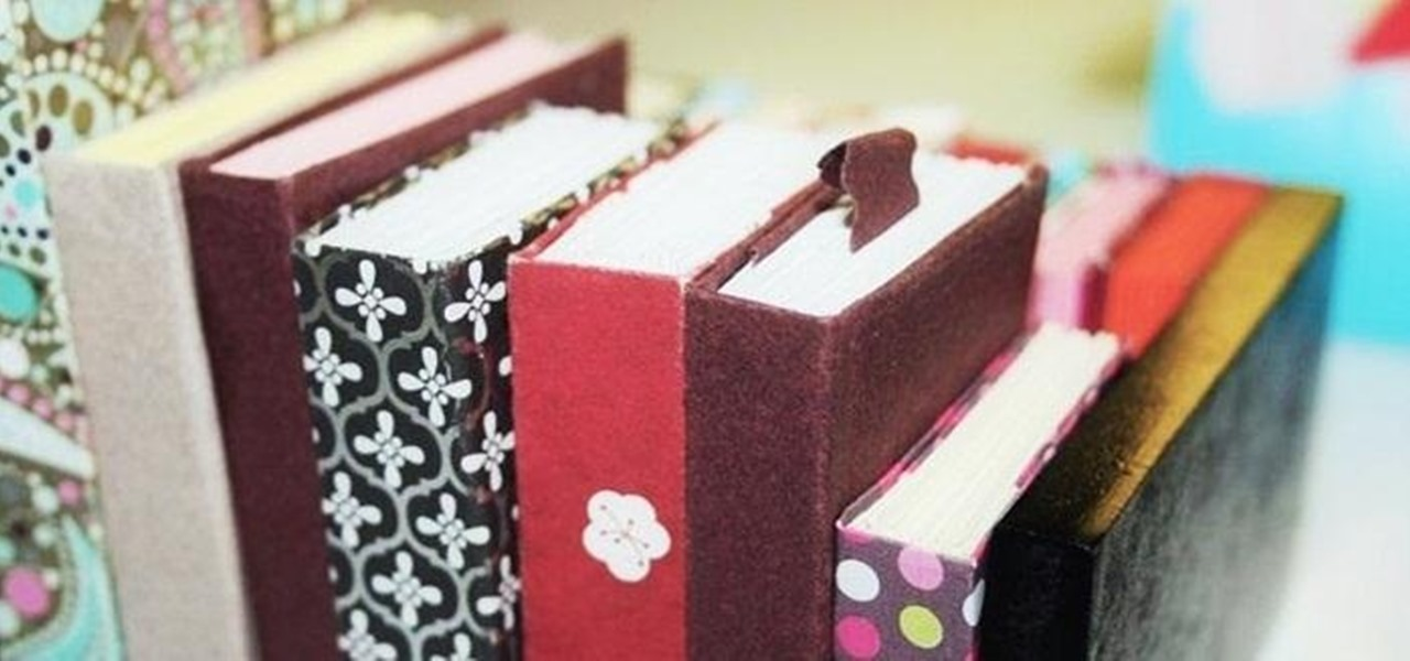 Make Cute, Tiny Origami Books