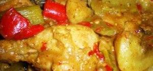 Make Filipino-style chicken curry