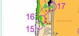 Train for sprint orienteering