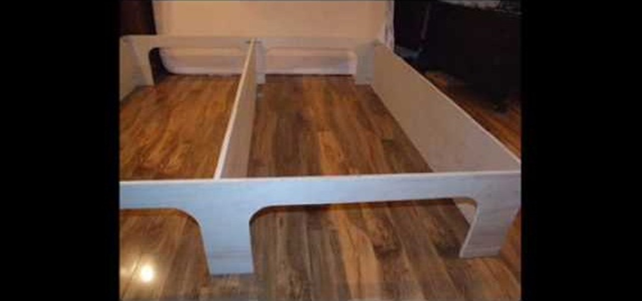 How To Build A Platform Bed With Storage Underneath - Amazing Wood ...