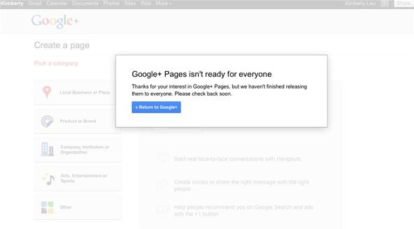 Google+ Rolls Out Pages for Businesses & Brands