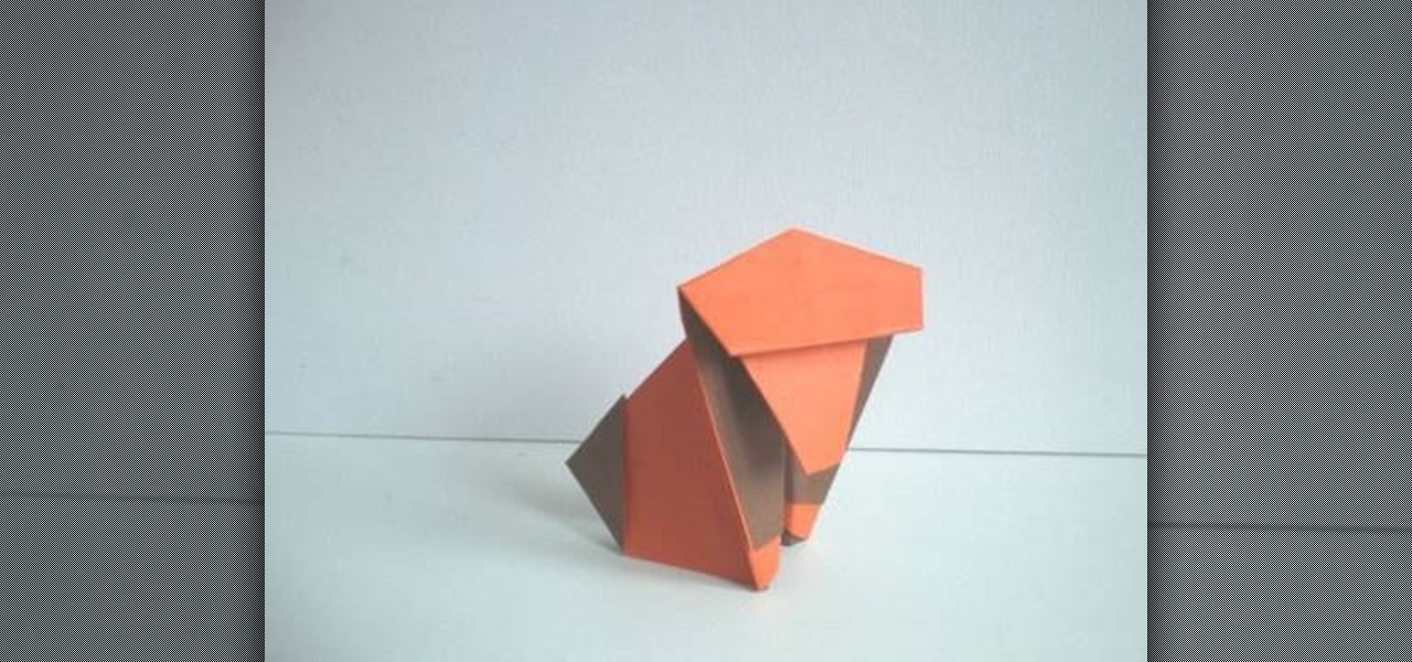 How To Make An Easy And Quick Origami Monkey Ape WonderHowTo
