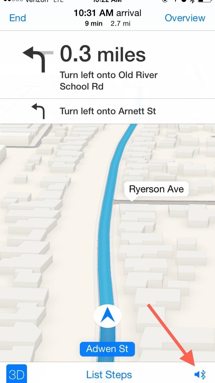 Make iPhone Navigation Prompts Play Over Your Car Speakers When Listening to the Radio