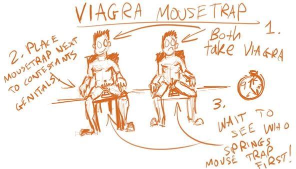 Viagra Mousetrap