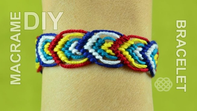 see also how to make a braided macrame friendship bracelet that looks
