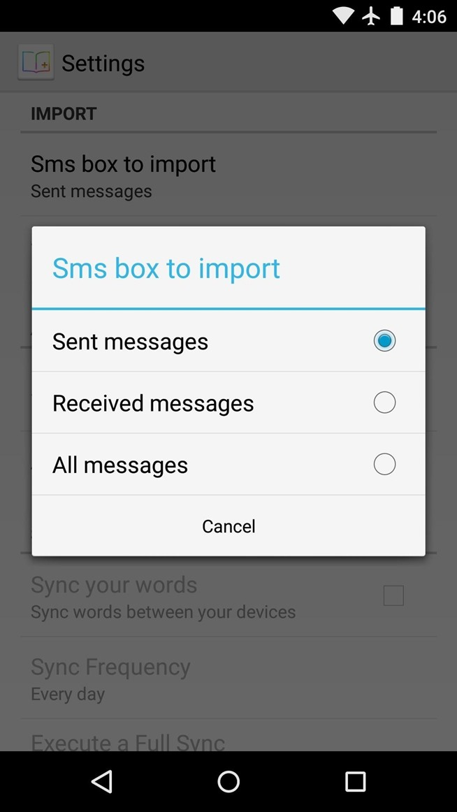 Personalize Your Android's Dictionary with Words from Your Emails, Texts, & Social Media