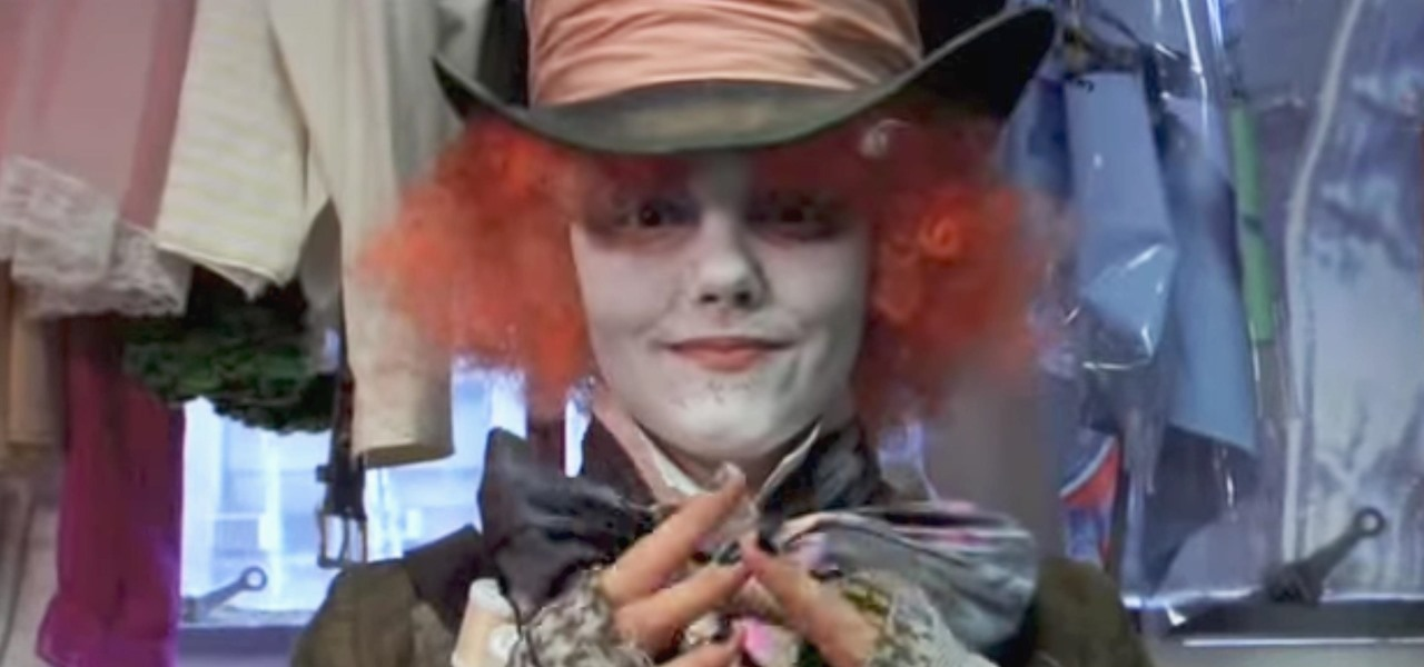 Create a Mad Hatter Costume Inspired by Tim Burton