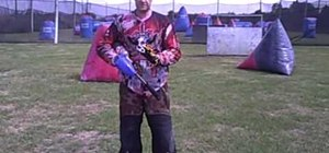 Procure proper paintball posture