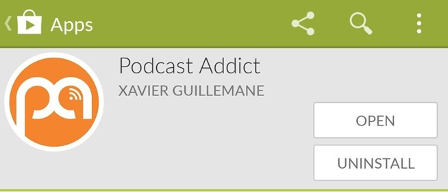 How to Cast Podcasts with Podcast Addict for Android