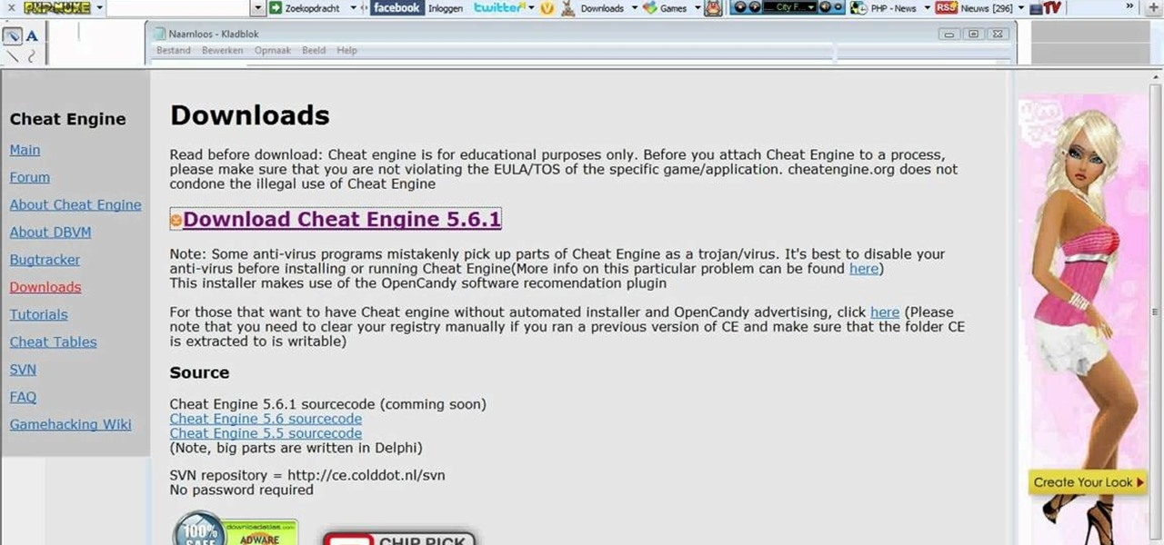 How to Use Cheat Engine to hack Microsoft Paint « Software