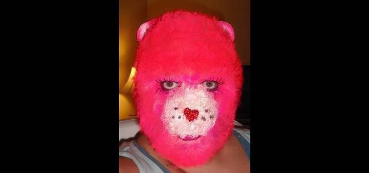 How to Apply furry (and surprisingly realistic) Care Bear makeup for Halloween « Makeup  WonderHowTo & How to Apply furry (and surprisingly realistic) Care Bear makeup for ...
