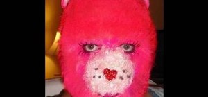 Apply furry (and surprisingly realistic) Care Bear makeup for Halloween