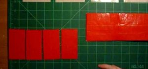 Craft a bi-fold duct tape wallet