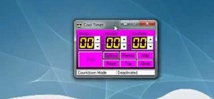 Download and use a desktop timer on your Microsoft Windows PC