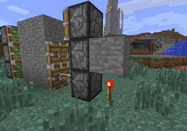 Piston Door 3x2 Piston Door in Minecraft