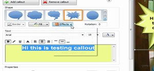 Use the zoom and callout feature in Camtasia 7