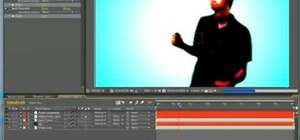 Create the iPod commercial effect in After Effects