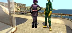 Kick Ass Playstation Home Costumes