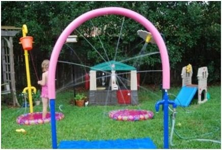 diy backyard water park beat the heat for cheap with these five diy