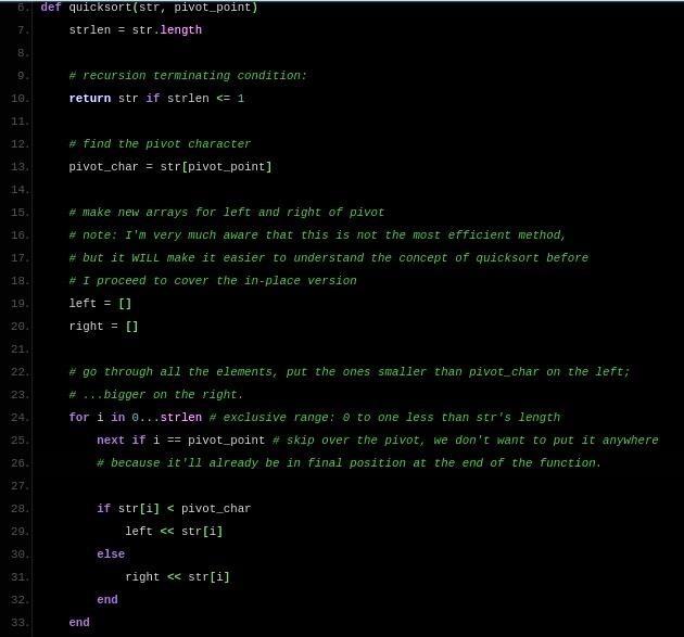 Sorting (Part 6.0): Quick Sort [Sorta Efficient]