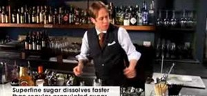 Mix a classic Mexican margarita cocktail