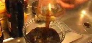 Make tiramisu Italian dessert