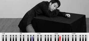 "Play ""River Flows In You"" from Yiruma on piano"