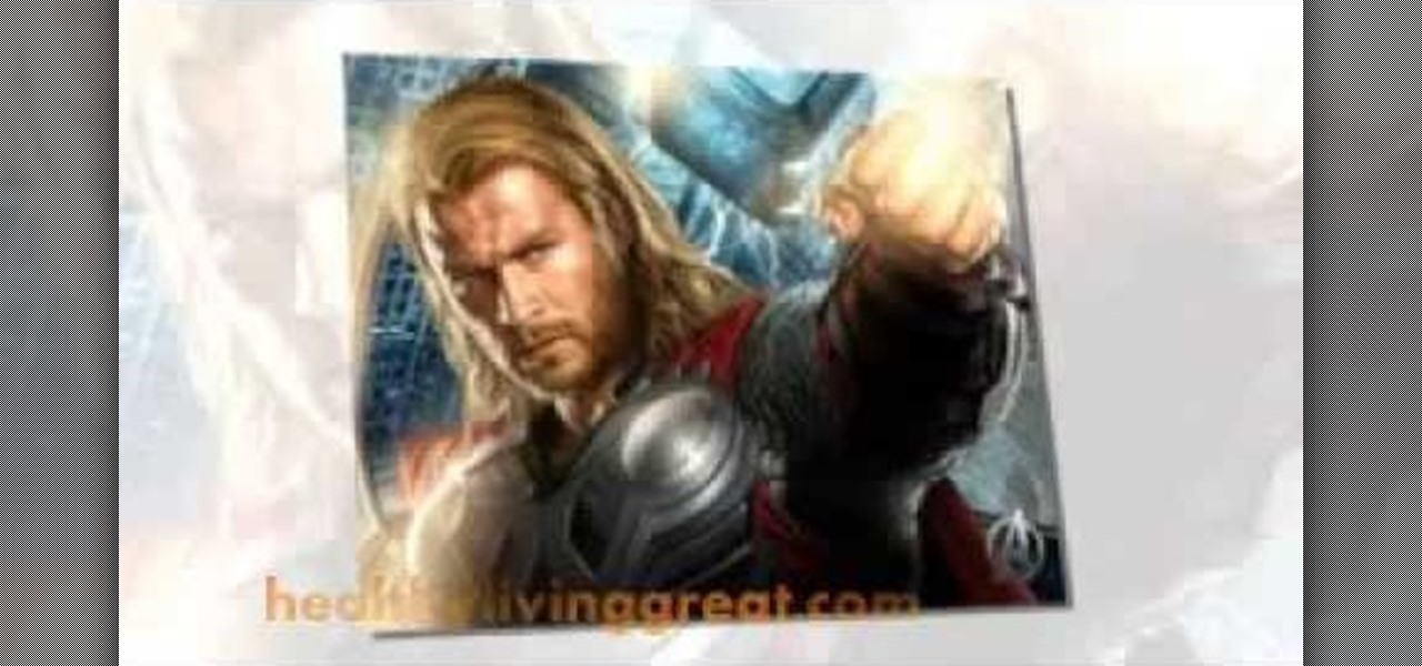 Get Muscles for the Movie Thor