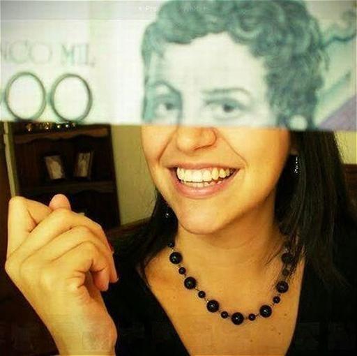 Money + Face = Art