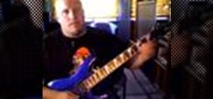 Play melodic lead lines on electric guitar