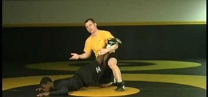 Practice the leg lace traditional step over wrestling