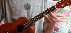 Play D minor scales on the ukulele