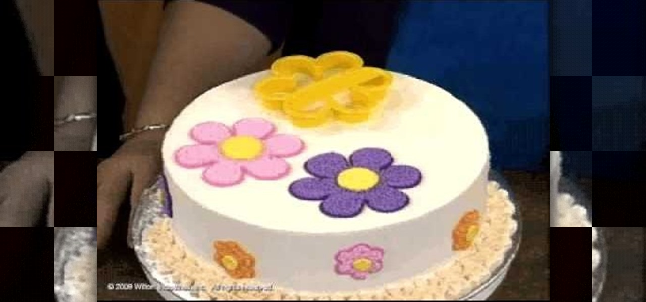 Cake Decorating How To Make Flowers : How to Make & decorate a pastel flower cake   Cake Decorating