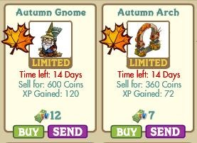 FarmVille Fall/ Autumn Theme