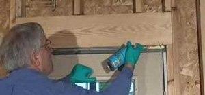 Use foam insulation