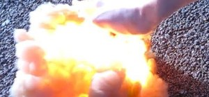 Light things on fire with explosive manganese heptox