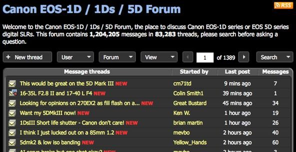 6 Places to Get Canon 5D Help Online