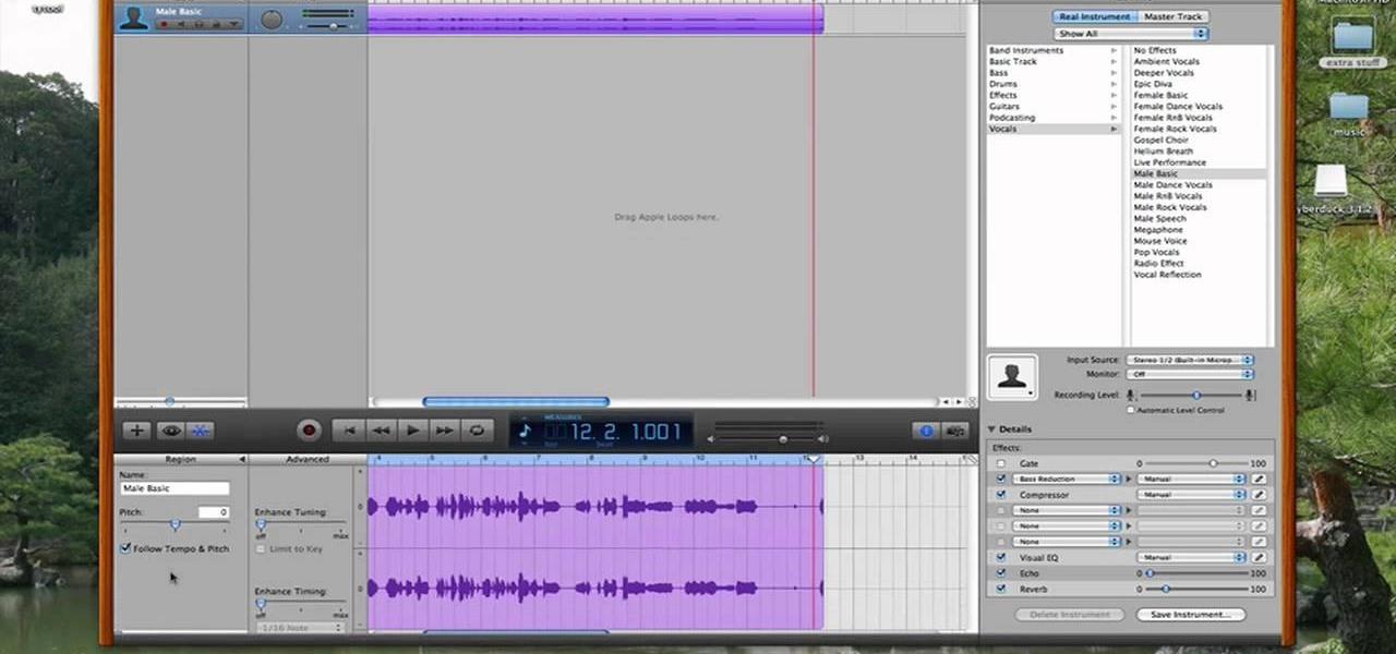how to use garageband on mac to make songs