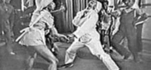 Lindy hop swing dance the night away