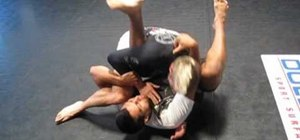 Perform the s mount arm bar off the flower sweep